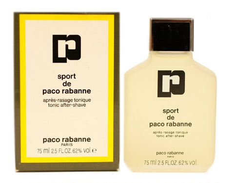 PAS18M - Paco Rabanne Sport Aftershave for Men - 2.5 oz / 75 ml