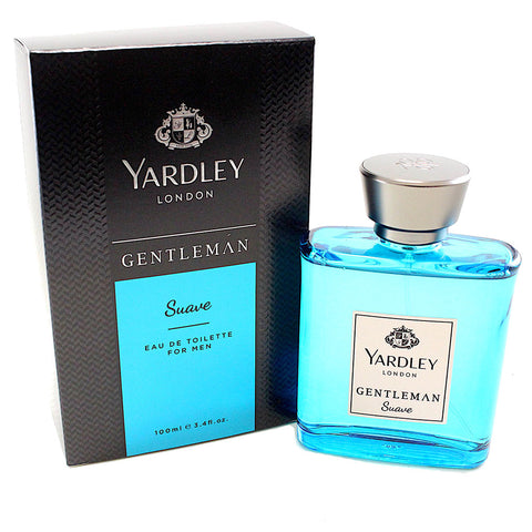 YAR136M-P - Yardley Gentleman Suave Eau De Toilette for Men - 3.4 oz / 100 ml Spray