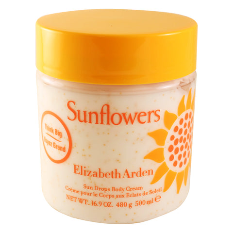 SU124 - Sunflowers Body Cream for Women - 16.9 oz / 500 ml