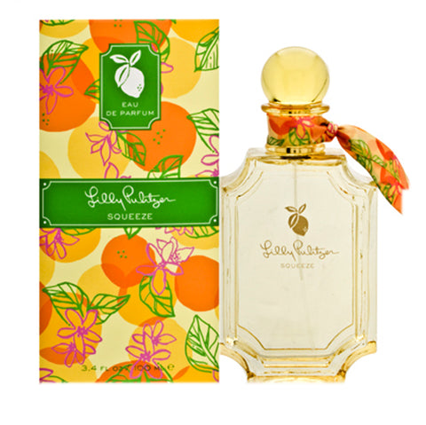 LPS34 - Lilly Pulitzer Squeeze Eau De Parfum for Women - Spray - 3.4 oz / 100 ml