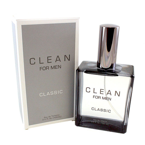 CLM34M - Clean Classic Eau De Toilette for Men - 3.4 oz / 100 ml Spray