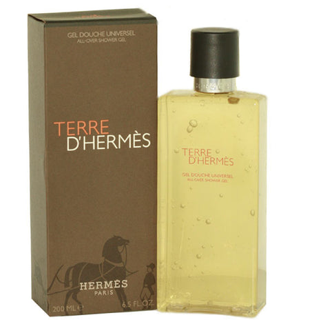 TER23M - Terre D' Hermes Shower Gel for Men - 6.5 oz / 200 ml
