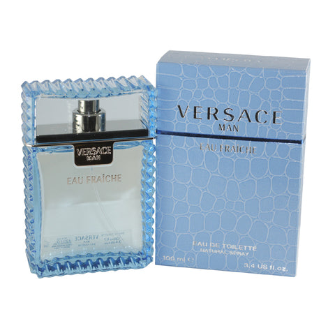 VER34M - Versace Man Eau Fraiche Eau De Toilette for Men - 3.4 oz / 100 ml Spray