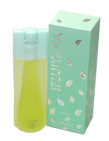 FUJ11W-F - Fujiyama Green Eau De Toilette for Women - Spray - 3.4 oz / 100 ml