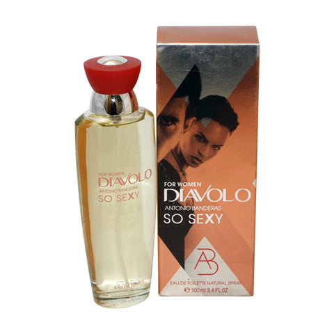 DIAS124 - Diavolo So Sexy Eau De Toilette for Women - Spray - 3.4 oz / 100 ml