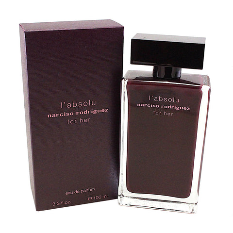 NRL33 - Narciso Rodriguez L'Absolu Eau De Parfum for Women - 3.3 oz / 100 ml Spray