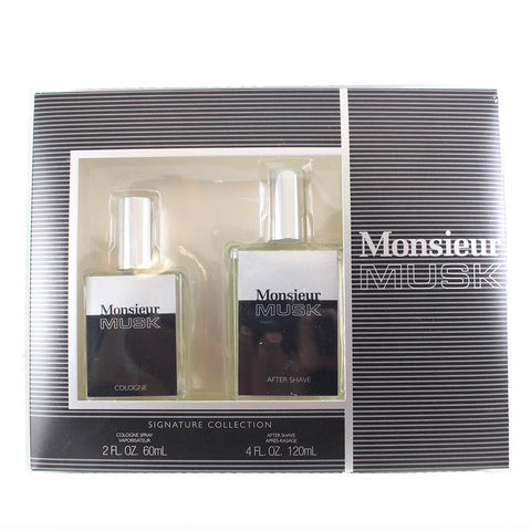 MON27M - Monsieur Musk 2 Pc. Gift Set for Men