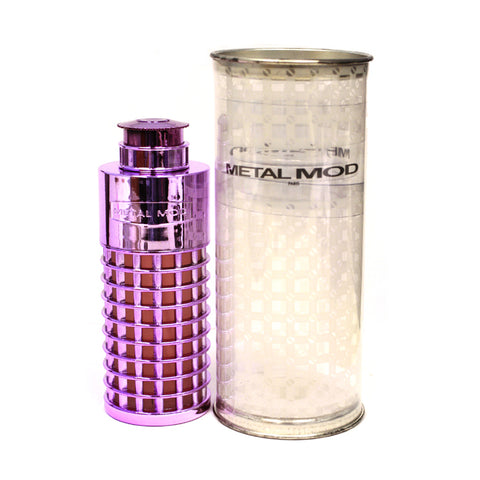 MET11W-F - Metal Mod Eau De Parfum for Women - 3.3 oz / 100 ml Spray