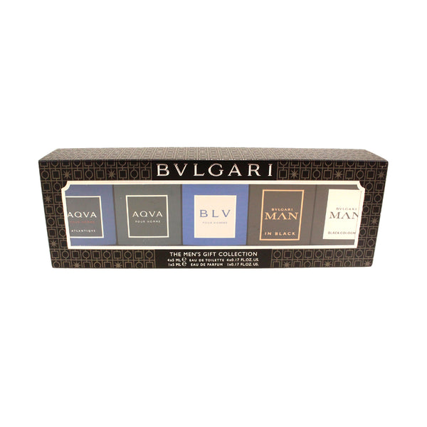 BVL4M - Bvlgari Miniature Collection 5 Pc. Gift Set for Men