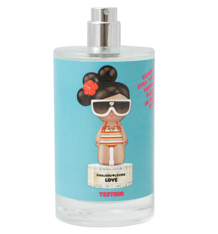 HARLS15T - Harajuku Lovers Sunshine Cuties Love Eau De Toilette for Women - 3.4 oz / 100 ml Spray Tester