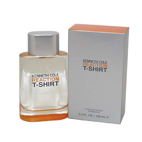 RET21M - Reaction T-Shirt Eau De Toilette for Men - 3.4 oz / 100 ml Spray