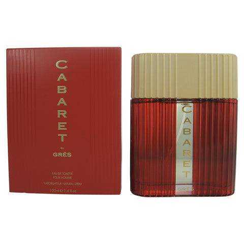 CAB33M - Cabaret Eau De Toilette for Men - Spray - 3.4 oz / 100 ml