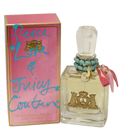JCPL34 - Peace Love & Juicy Couture Eau De Parfum for Women - 3.4 oz / 100 ml Spray