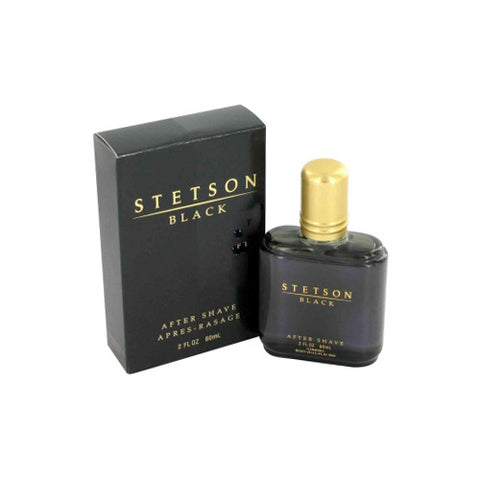 STB312M - Stetson Black Aftershave for Men - 2 oz / 60 ml