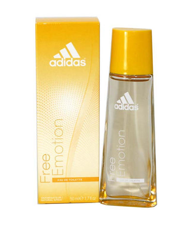 ADF17 - Adidas Free Emotion Eau De Toilette for Women - Spray - 1.7 oz / 50 ml