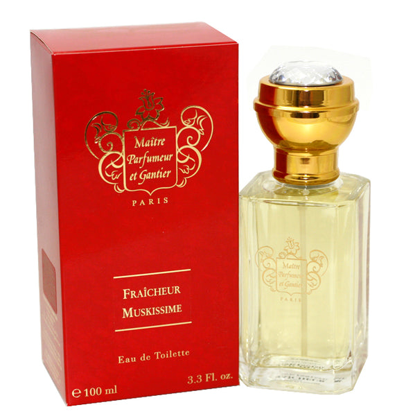 FRA95-P - Fraicheur Muskissime Eau De Toilette for Women - Spray - 3.3 oz / 100 ml