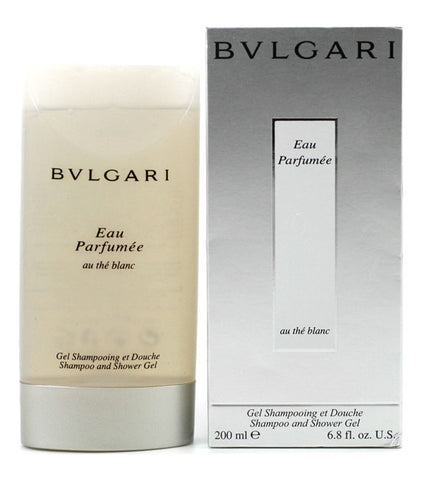 BVW21 - Bvlgari Au The'Blanc Perfumed Shampoo & Shower Gel for Women - 6.8 oz / 200 ml