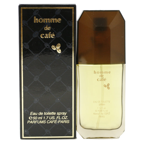 CAF10M - Homme De Café Eau De Toilette for Men - Spray - 1.7 oz / 50 ml