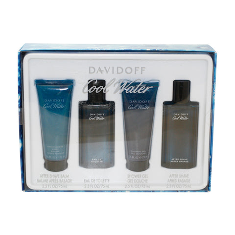 CO60M - Cool Water 4 Pc. Gift Set for Men