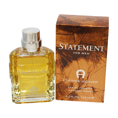 STA110M-P - Statement Eau De Toilette for Men - 4.2 oz / 125 ml Spray