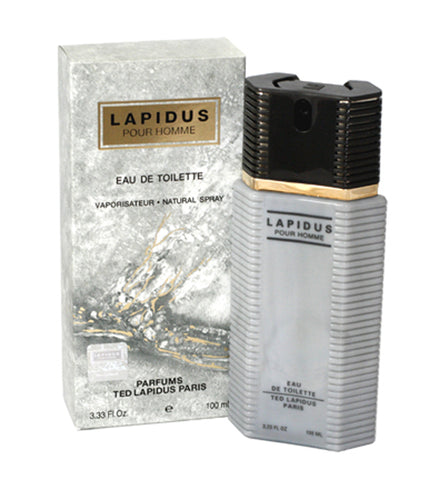 LA66M - Lapidus Eau De Toilette for Men - 3.33 oz / 100 ml Spray