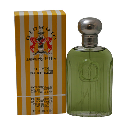 GI31M - Giorgio Beverly Hills Eau De Toilette for Men - 4 oz / 118 ml Spray
