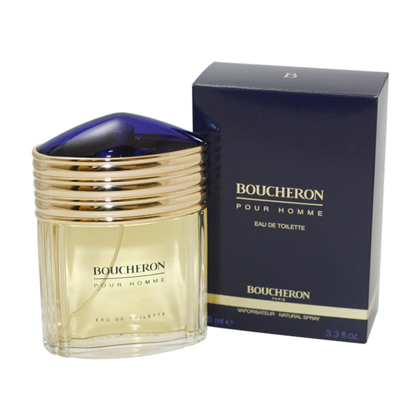 BO47M - Boucheron Eau De Toilette for Men - 3.3 oz / 100 ml Spray