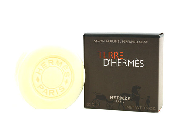 TER212M - Terre D' Hermes Soap for Men - 3.5 oz / 105 ml