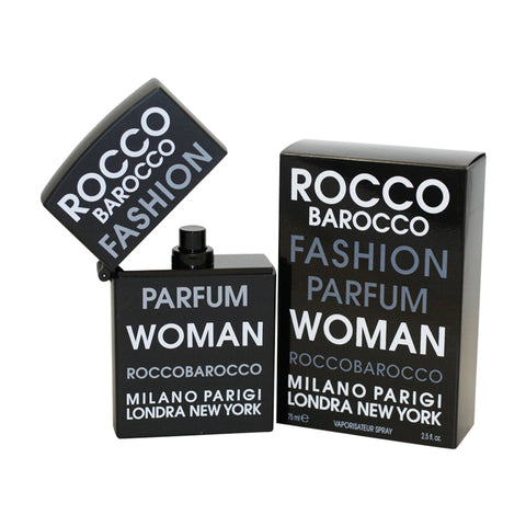 RBF25 - Roccobarocco Fashion Eau De Parfum for Women - 2.5 oz / 75 ml Spray