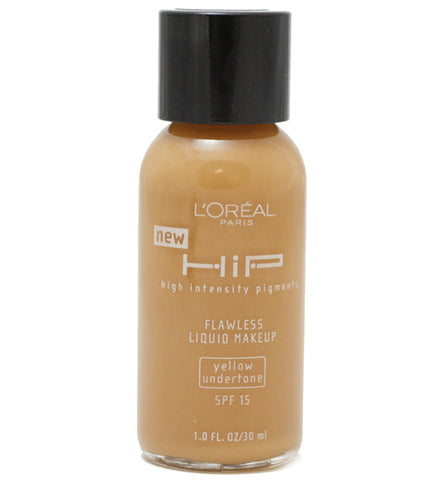 LRH20 - Loreal Hip Flawless Liquid Makeup Foundation for Women - 2 Pack - SPF 15 - 1 oz / 30 ml - Cappuccino #812