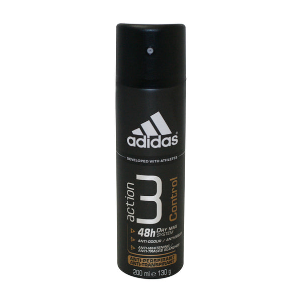AA31M - Adidas Action 3 Control Anti-Perspirant for Men - Spray - 6.67 oz / 200 ml