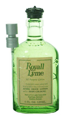 R996M - Royall Lyme Of Bermuda Cologne for Men - 4 oz / 120 ml Tester