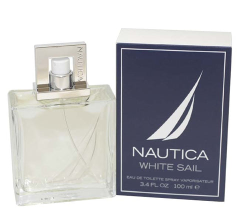 NAW13M - Nautica White Sail Eau De Toilette for Men - Spray - 3.4 oz / 100 ml