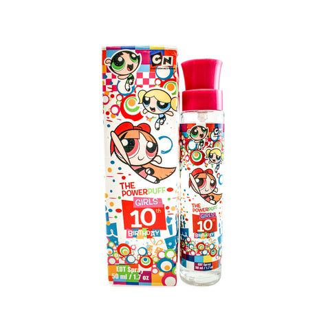 POW19 - Powerpuff Girls 10Th Birthday Eau De Toilette for Women - 1.7 oz / 50 ml Spray