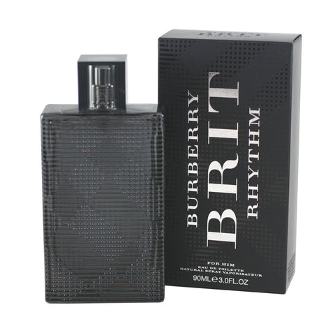 BRR10M - Burberry Brit Rhythm Eau De Toilette for Men - 3 oz / 90 ml Spray
