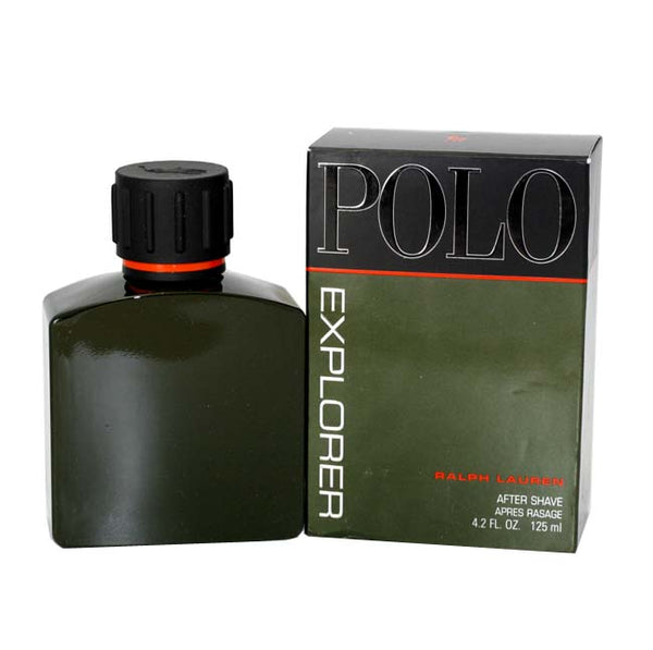 POE10M - Polo Explorer Aftershave for Men - 4.2 oz / 125 ml