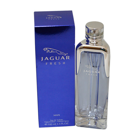 JF34M - Jaguar Fresh Man Eau De Toilette for Men - Spray - 3.4 oz / 100 ml