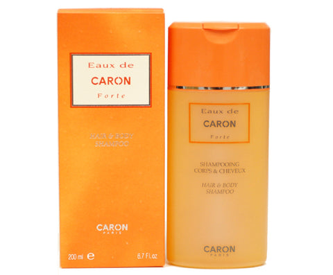 EAU55M - Eaux De Caron Forte Hair & Body Shampoo for Men - 6.7 oz / 200 ml