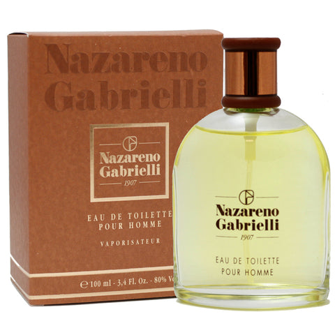 NAZG3M - Nazareno Gabrielli Eau De Toilette for Men - Spray - 3.4 oz / 100 ml