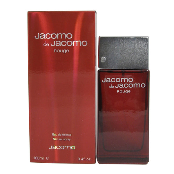 JA12M - Jacomo Rouge Eau De Toilette for Men - 3.4 oz / 100 ml Spray