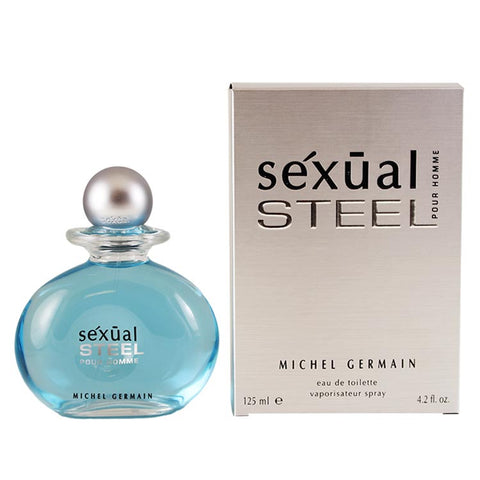 STEL2M - Sexual Steel Eau De Toilette for Men - Spray - 4.2 oz / 125 ml