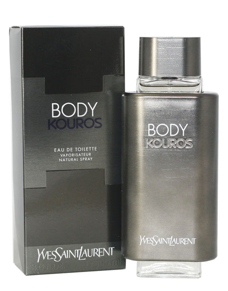 KO14M - Kouros Body Eau De Toilette for Men - 3.3 oz / 100 ml Spray
