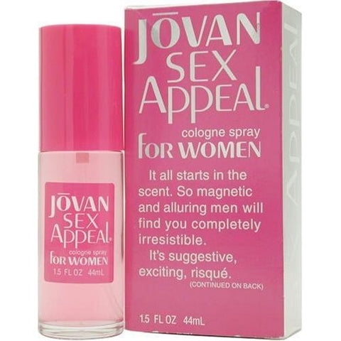 JO68 - Jovan Sex Appeal Cologne for Women - Spray - 1.5 oz / 45 ml