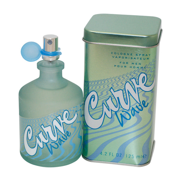 CUR61-P - Curve Wave Cologne for Men - 4.2 oz / 125 ml Spray