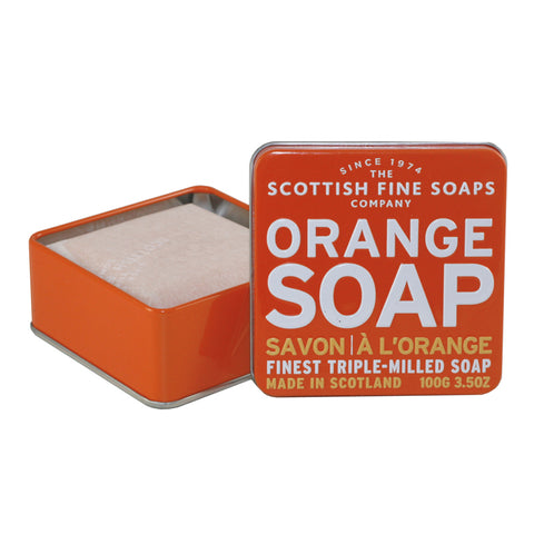 SFS25 - Orange Soap Soap for Women - 3.5 oz / 105 ml