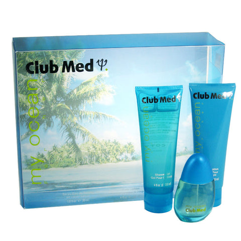 CLU12 - Club Med My Ocean 3 Pc. Gift Set for Women