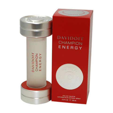 DAC30M - Davidoff Champion Energy Eau De Toilette for Men - 3 oz / 90 ml Spray