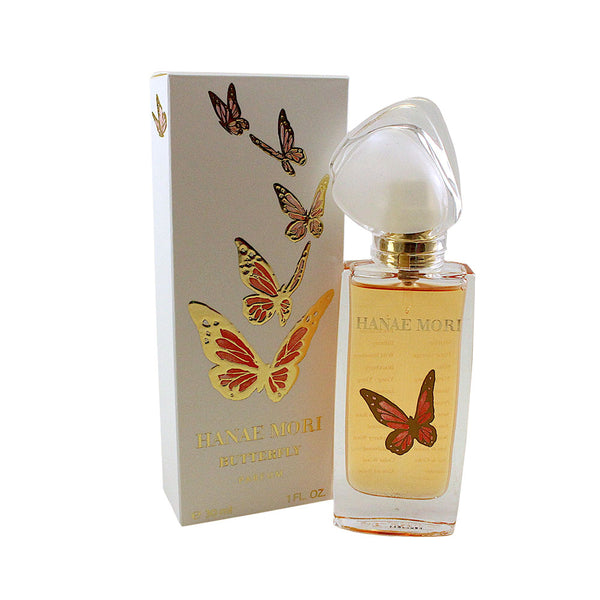 HAB09 - Hanae Mori Butterfly Parfum for Women - 1 oz / 30 ml Spray