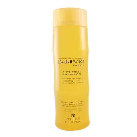 BAM35 - Bamboo Shampoo for Women - 8.5 oz / 250 ml Anti-Frizz Shampoo