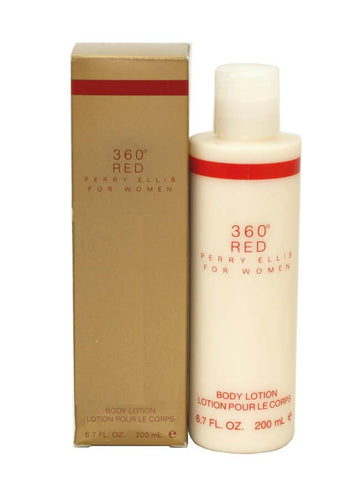 PE49 - Perry Ellis 360 Red Body Lotion for Women - 6.7 oz / 200 ml